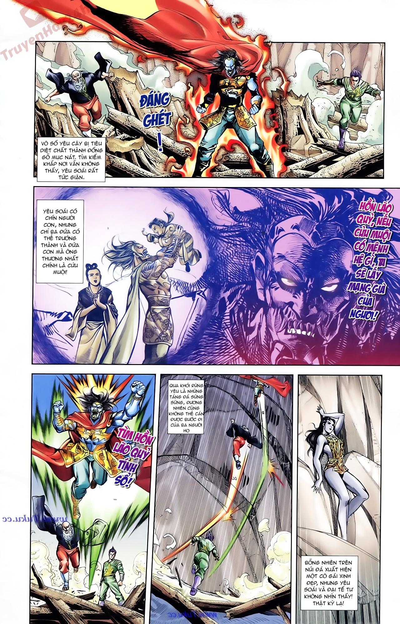 Cơ Phát Khai Chu Bản chapter 76 trang 30