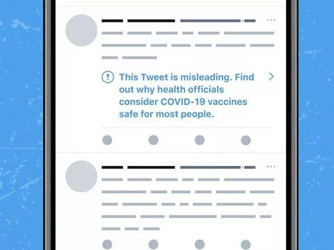 Twitter Akan Memadamkan Akaun yang Menyebarkan Maklumat Salah Vaksin Covid-19