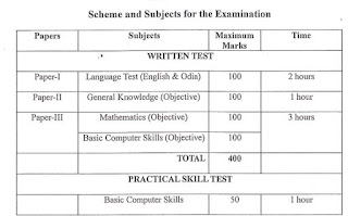 OPSC Junior Assistant Previous Question Papers and Syllabus 2019-2020