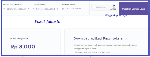 Paxel Jakarta : Alamat, Nomor Telepon (Call Center) dan Cek Tarif