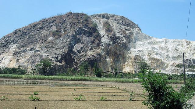 Bukit Watu Putih Jepara dari dekat