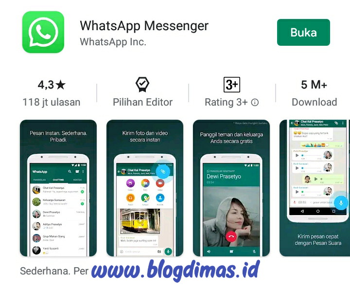 Memperbarui Whatsapp