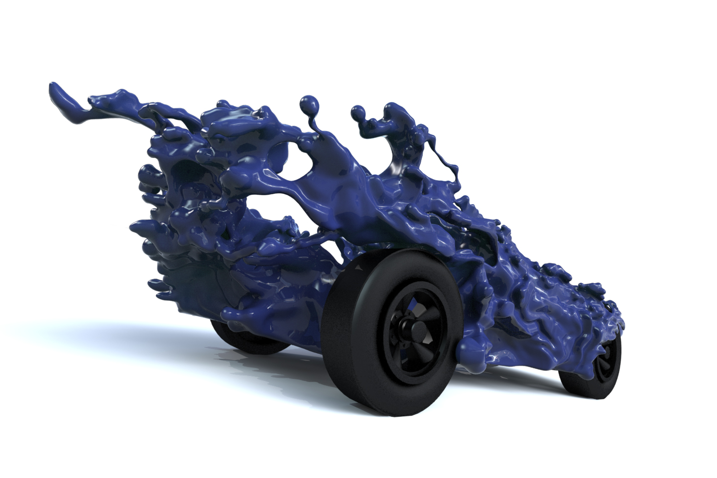 Update on Liquid Car model for 3d printing