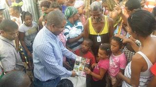 Regidor Wilson Díaz exhorta a la solidaridad por los damnificados de SC