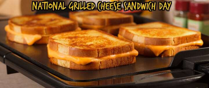 National Grilled Cheese Sandwich Day Wishes for Whatsapp