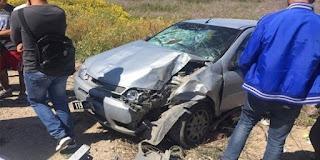 بنزرت: حادث مرور يسفر عن إصابة 4 أشخاص من عائلة واحدة