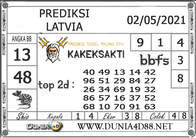 Prediksi Togel LATVIA DUNIA4D 02 MEI 2021