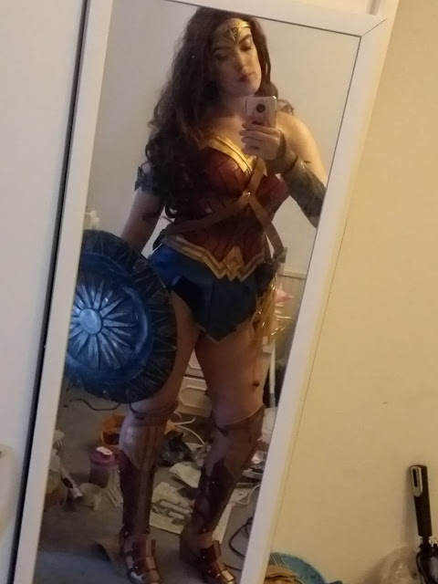 Handmade Wonder Woman Halloween Costume