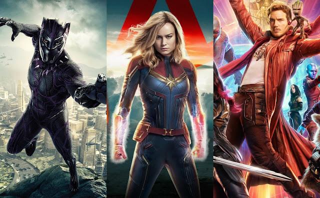 Pantera Negra 2, Capitã Marvel 2 e Guardiões da Galáxia Vol. 3 são oficialmente confirmados