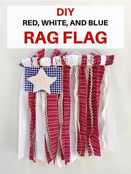 rag flag pin