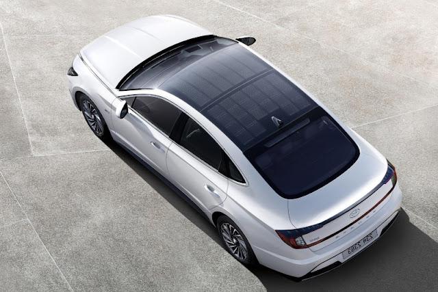 Hyundai solar sunroof