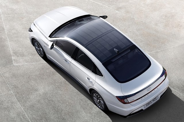 Hyundai launches its first car with sunroof charging system