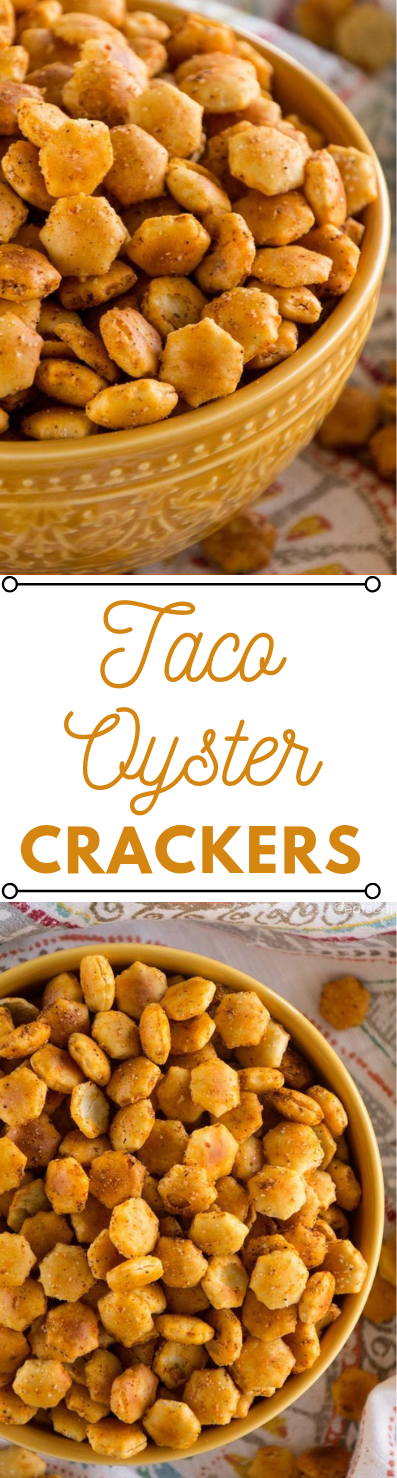 TACO OYSTER CRACKERS #dessets #taco #crackers #pie #snack