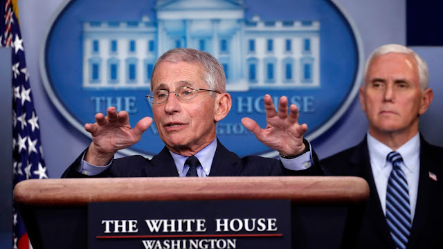 Dr. Fauci: 'I Can't Guarantee' It Will be Safe to Vote at Polls in November