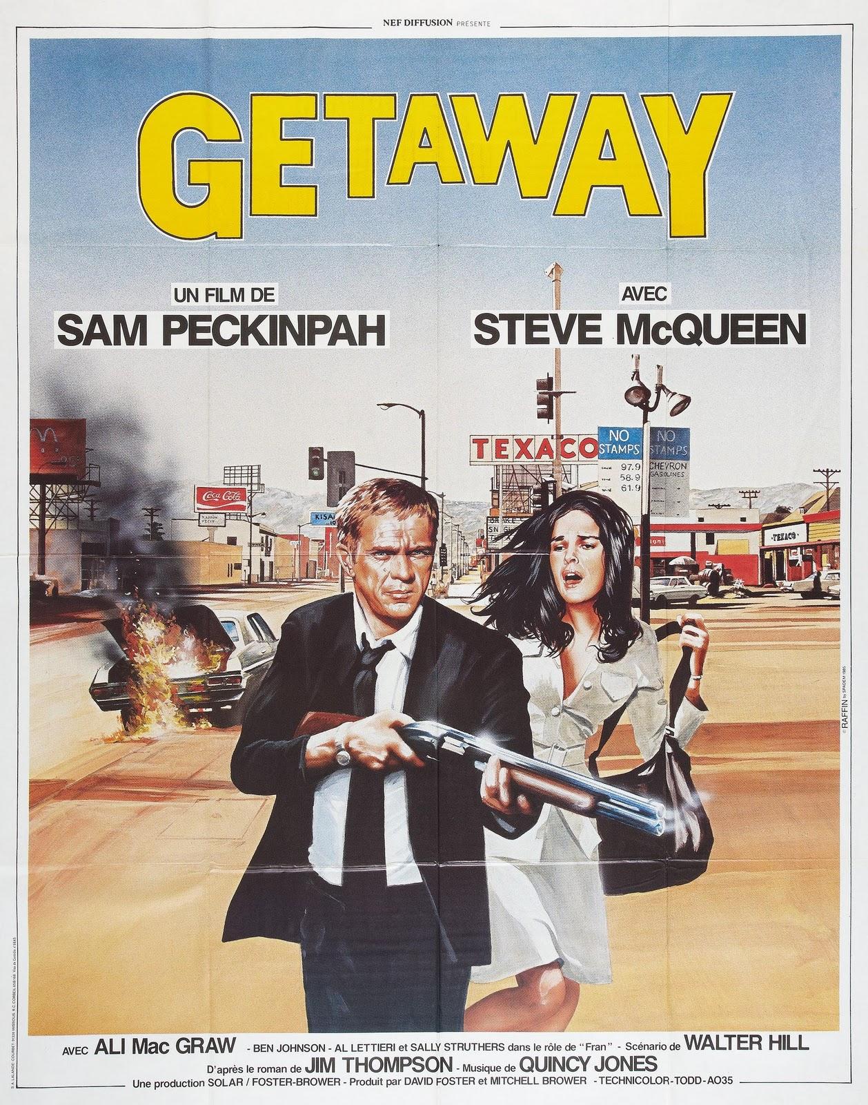 Movie Posters The Getaway 1972