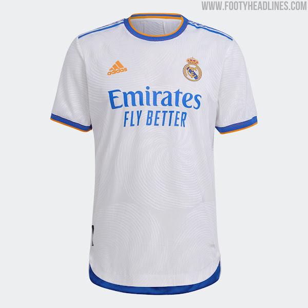 Real Madrid 21 22 Home Kit Released Footy Headlines