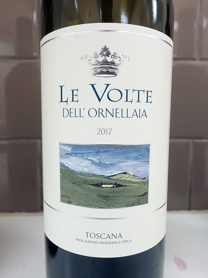 Le Volte dell'Ornellaia 2017 (90 pts)