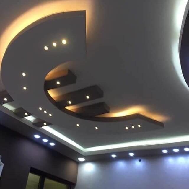 جبس سقف غرف النوم