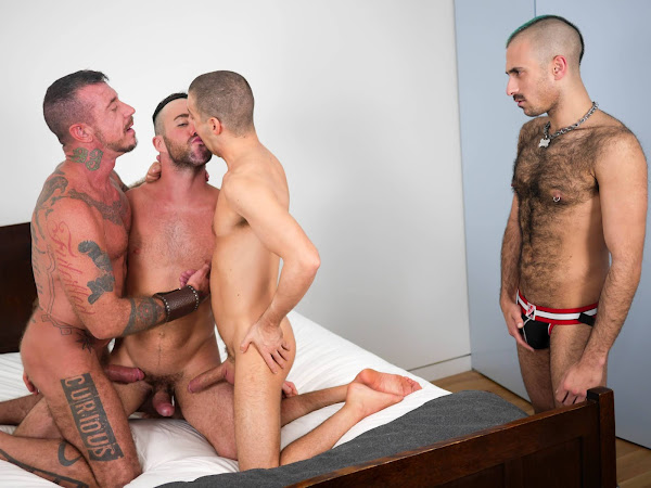 Breed me #Raw - Ray Dalton and Tommy Deluca and Alex Mason and Wolvypup