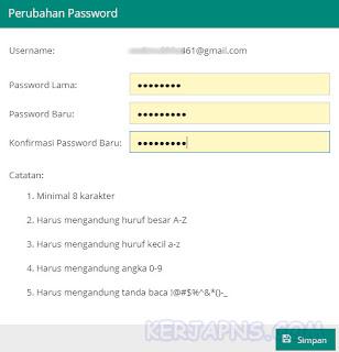 ubah password akun dapodik GTK
