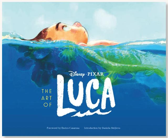 Disney Pixar Art of Luca Book