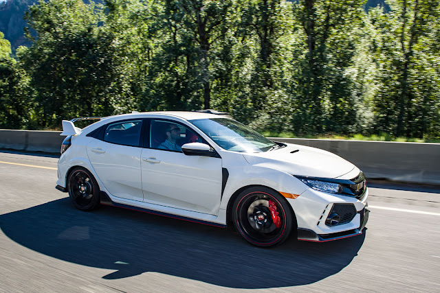 Review 2017 Honda Civic Type R Touring Subcompact