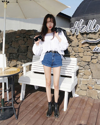 Outfit coreano casual