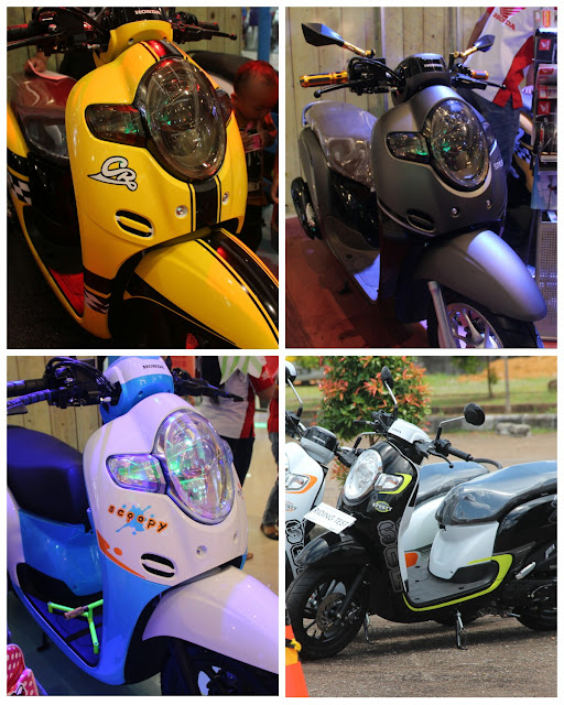 Astra Motor Pontianak Luncurkan All New Honda Scoopy