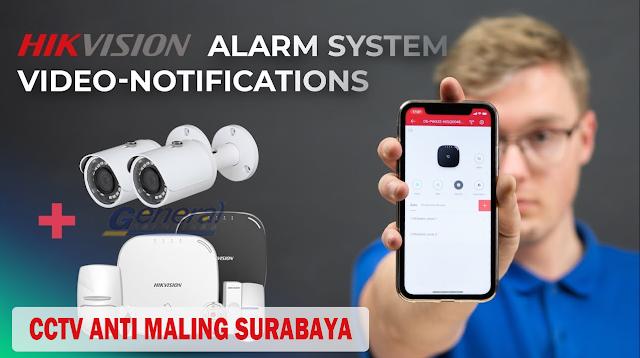 No.1 CCTV Anti Maling Surabaya Sistem Alarm Tercanggih