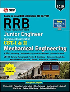 Download RRB JE 2019 Mechanical Engineering G K Publication Book Pdf