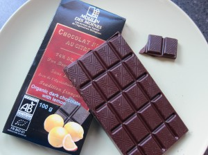 Moulin des moines dark chocolate bar review