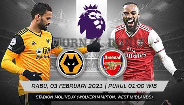 Prediksi Wolverhampton Wanderers Vs Arsenal