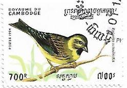 Selo Escrevedeira-dos-caniços