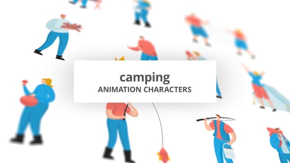 Camping – Character Set[Videohive][After Effects][29102352]