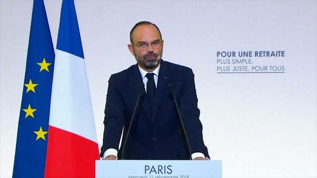 Macron anuncia detalles de su polémico plan de pensiones