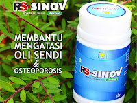 RS-SINOV Herbal Oli Sendi & Osteoporosis Alami dan Herbal