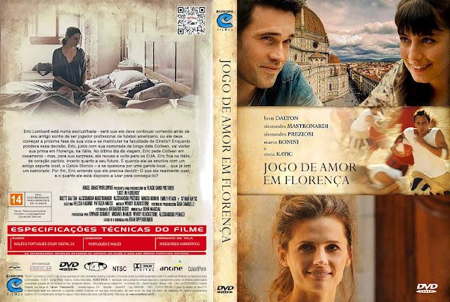 Capa DVD Jogo de Amor em Florença [Exclusiva]