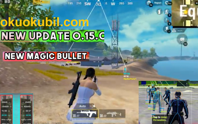 Pubg Mobile 0.15. Aimbot, High Jump Magic Bullet Hilesi Emulatör Yeni İndir