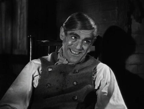 John Gray (Boris Karloff) en El ladrón de cadáveres. The Body Snatcher - Cine de Escritor