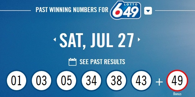 Lottery 649 Results