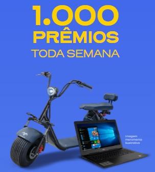 Promoção Ipiranga 2020 milhares prêmios toda semana - Moto elétrica, Notebooks e Créditos