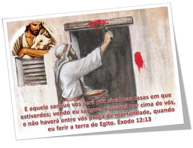 Resultado de imagem para portas pintadas com o sangue do cordeiro