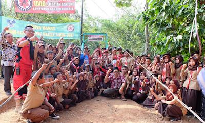Sulastri : Terimakasih Pak Ridho Ficardo, VRI dan Pramuka Lampung
