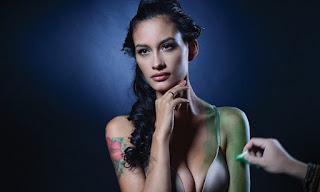 Foto Body Painting Rebecca Reijman
