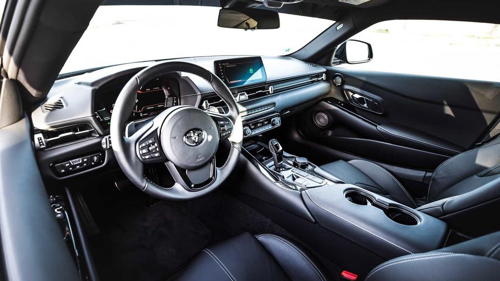 Toyota Supra GR 450 với gói độ mạnh hơn 400 mã lực