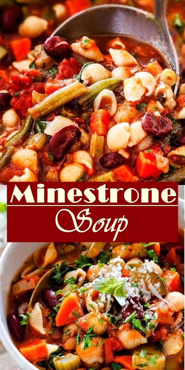 Minestrone Soup #souprecipes