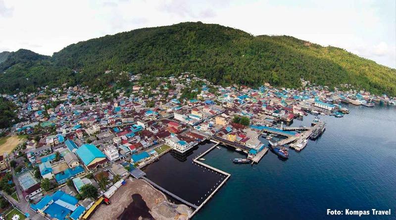 Foto kota kecamatan tarempa kabupaten kepulauan anambas