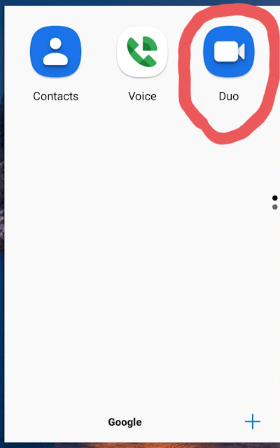 Picture of Google Duo
