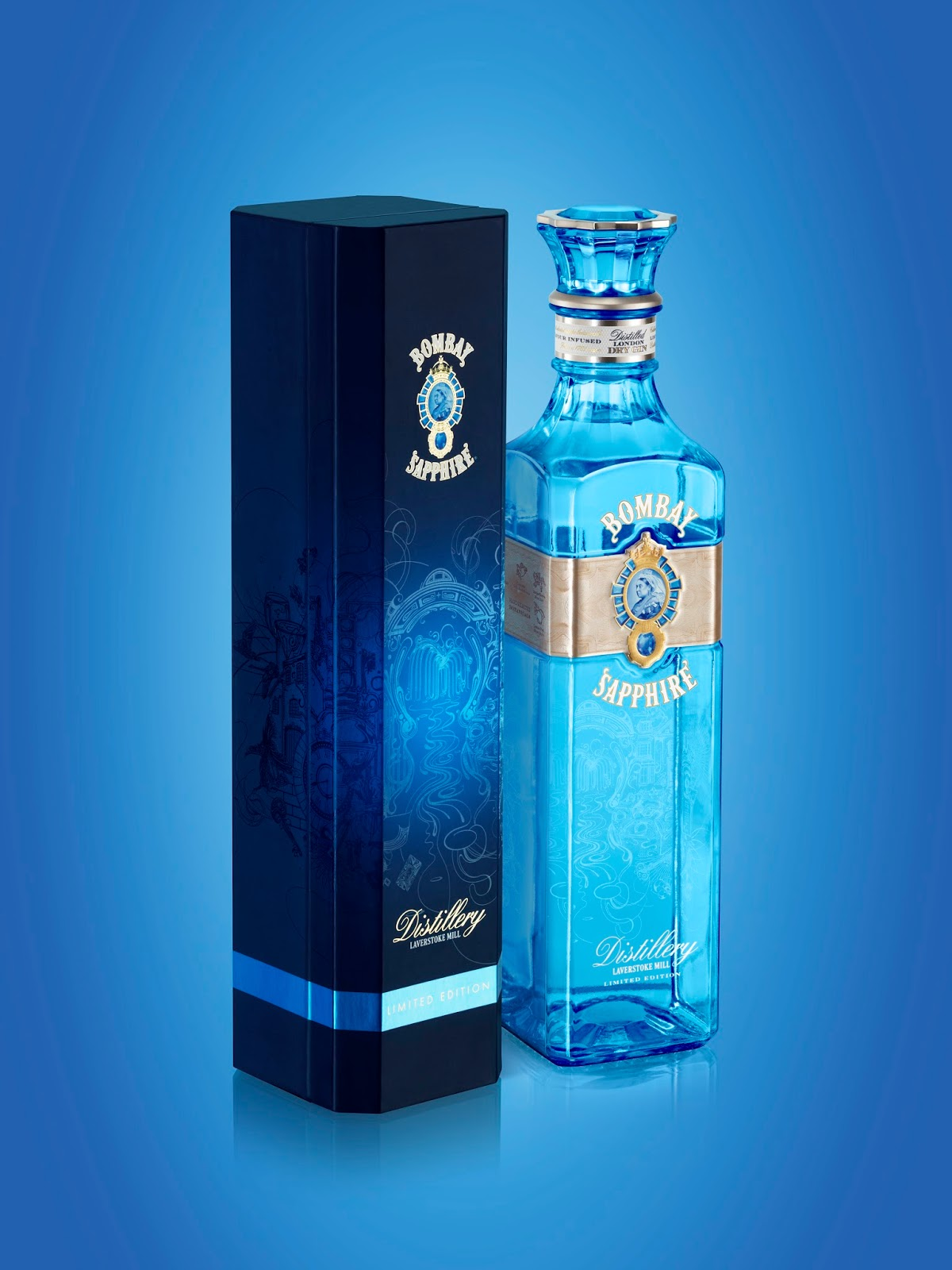 Bombay Sapphire Laverstoke Mill Distillery Limited Edition by Webb deVlam