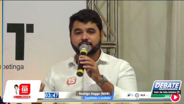 Candidato Rodrigo Hagge